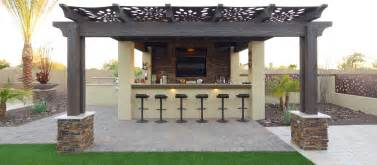 Patio Pergola Bar Set Pergola Outdoor Kitchen Bbq Bar Artificial Grass