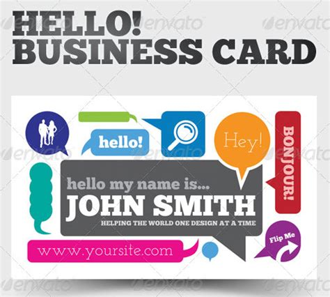 hello business card template 50 cool premium business card templates naldz graphics