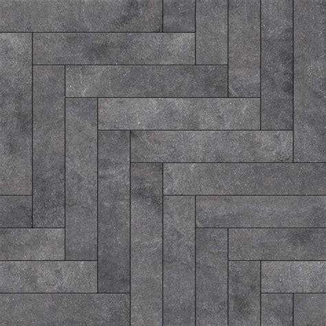 perfection floor tile natural stone chevron blackstone
