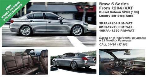 bmw 5 series lease payments cheap bmw 5 series lease from 163 204 per month
