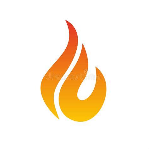 chamã gieã en logotipo da chama 237 cone do fogo molde do projeto do