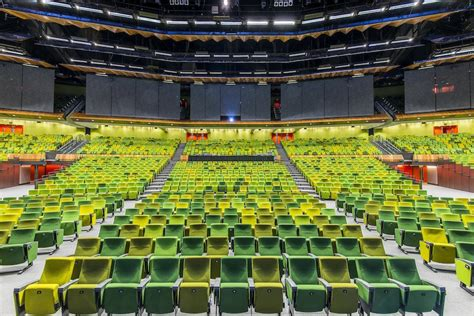 Exhibition Floor Plan by Plenary Mcec