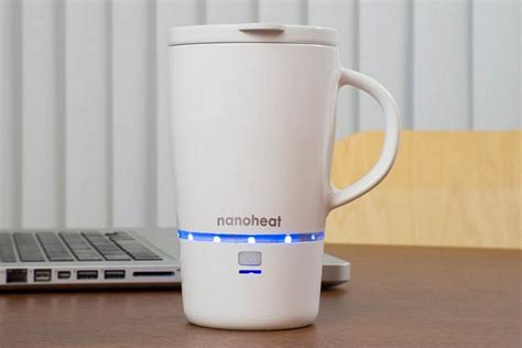 heated coffee mug nano heated mug