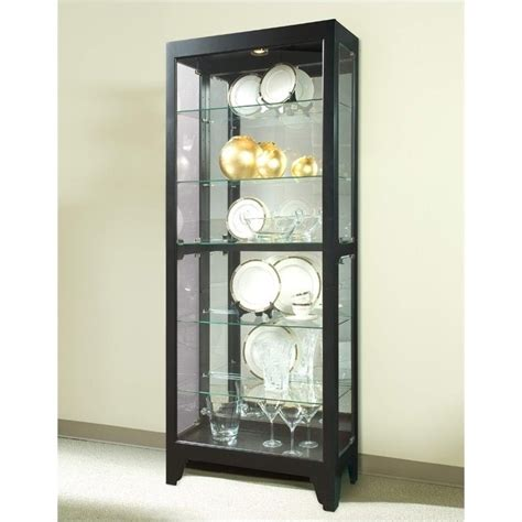 Curio Cabinets by Onyx Curio Cabinet 21218