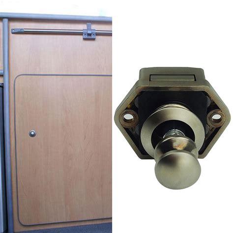 push button cabinet latch push button drawer cupboard door catch lock caravan