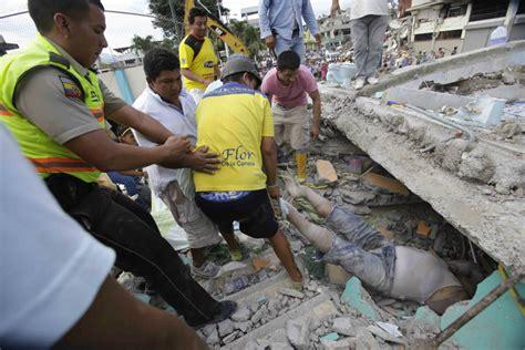 pedernales en ecuador terremoto en ecuador destrucci 243 n y muerte proceso