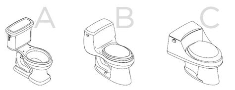 types of bidets toilet size and shape guide elongated 1 and 2