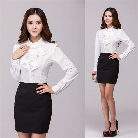 popular professional office uniforms buy cheap