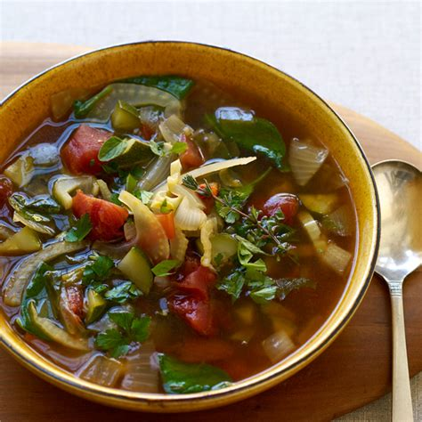 Weight Watcher Garden Vegetable Soup Italian Inspired Vegetable Soup