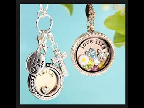 Origami Owl Living Lockets Reviews - jewerly giveaway origami owl living locket review