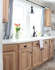 Cleaning Kitchen Cabinets Wood by Best 25 Light Wood Cabinets Ideas On Pinterest Wood