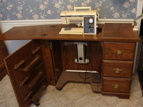 kenmore sewing machine and cabinet i sewing