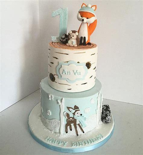 trend alert woodland animal cakes baking heaven