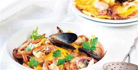 cucinare frutti di mare ravioli ai frutti di mare cucina