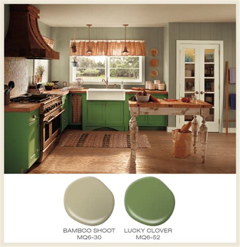 behr paint colors new bamboo color of the month lucky clover green cabinets accompany