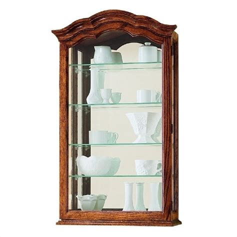 wall curio display cabinet howard miller vancouver ii wall display curio cabinet ebay