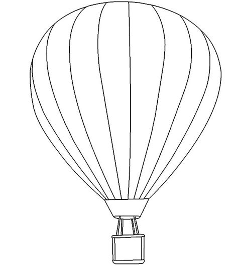 air balloon coloring page air balloon coloring pages coloring sky