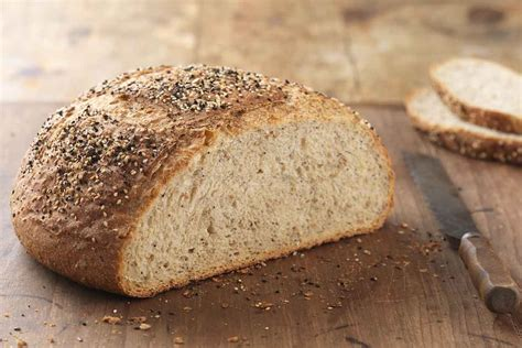 whole grains for 12 month multigrain sourdough boule recipe king arthur flour