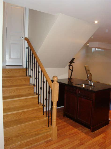 stairs to the basement toronto basement renovations