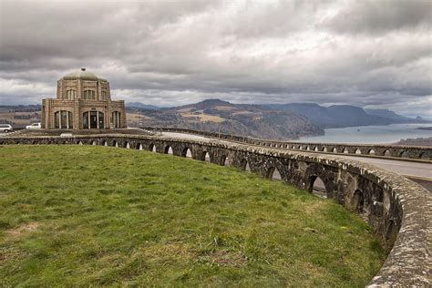 vista house crown point historic vista house on crown point in oregon photograph by jpldesigns