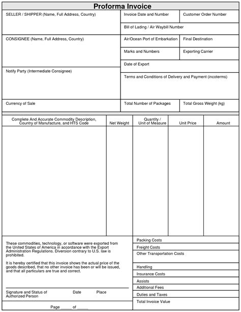 proforma invoices png basic invoice template word uk simple google
