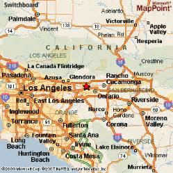 map of claremont california claremont california