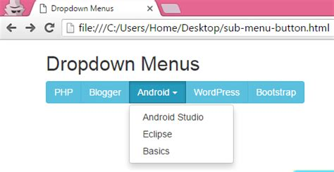 how to create specific type of dropdown menu in asp net create horizontal menu with dropdown navigation sub menus