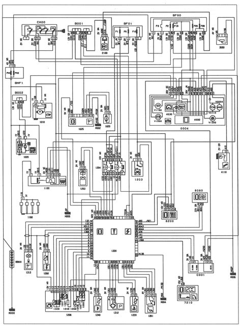 peugeot 406 a c wiring diagram peugeot automotive wiring