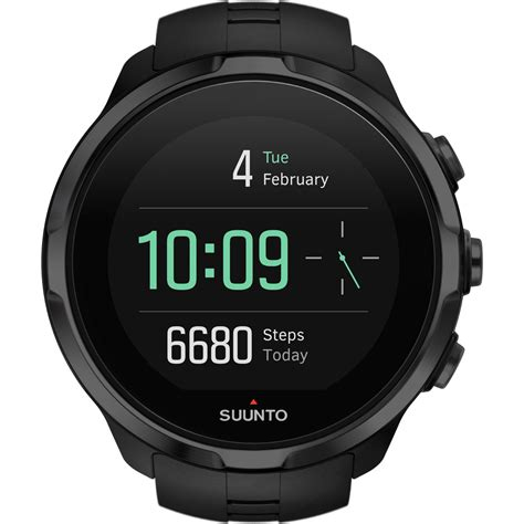 Suunto Digital Black wiggle suunto spartan sport wrist hr gps running computers