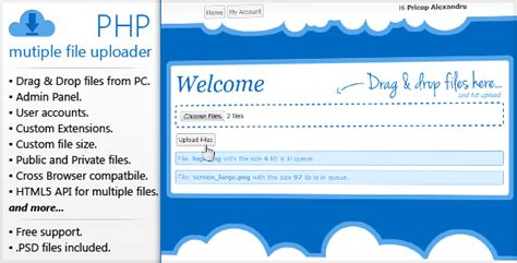 70 php file upload scripts and code codecanyon codecanyon primarius xml multiple sitebuilder nulled