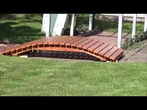 how to build a garden bridge how to build a arched garden bridge youtube