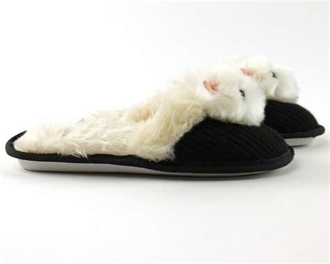 fuzzy nation slippers westie slippers slippers fuzzy nation slippers