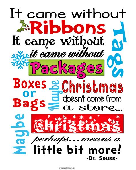 printable grinch quotes whimsical christmas frame and free printables pink