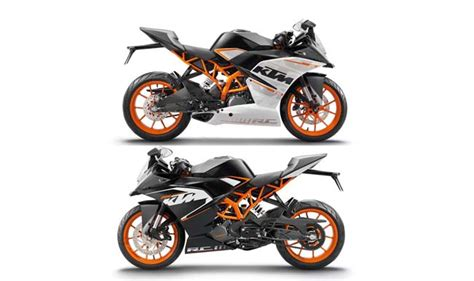 ktm rc 200 price in india ktm rc 200 390 launch in india live streaming ktm rc 200