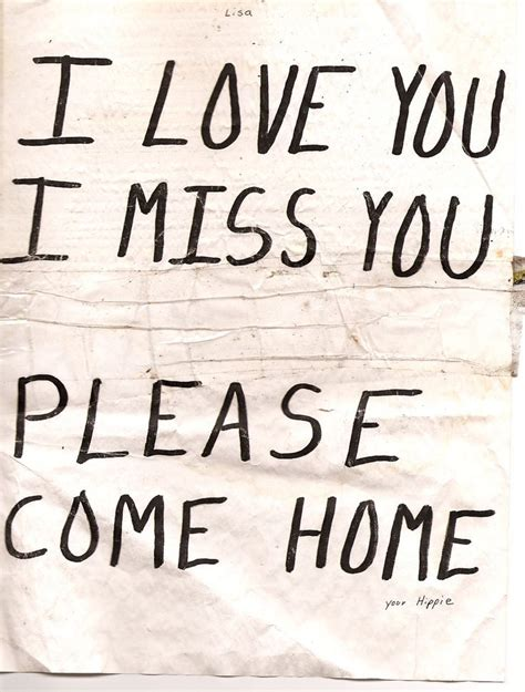 come home soon quotes quotesgram