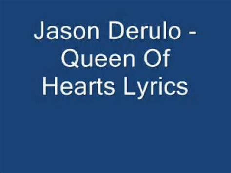 jason derulo queen of hearts lyrics jason derulo queen of hearts lyrics by coa youtube
