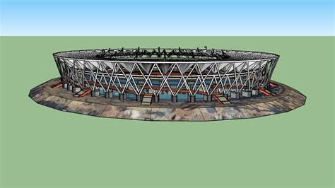 Jawaharlal Nehru Stadium, New Delhi(oldupdate) | 3D Warehouse