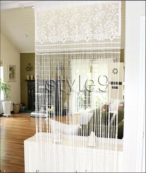 curtain doorway divider 169 best images about room dividers on pinterest pvc