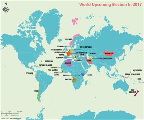 2017 Elections Elections Calendar 2017 Maps Of World | 2017 elections elections calendar 2017