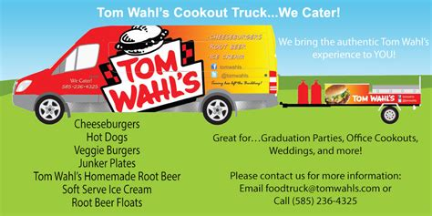 Toms Gift Card Code - tom wahls food truck page www tomwahls com