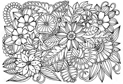 doodle bunga 45 contoh cara gambar doodle simple sederhana