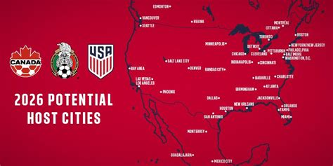 2026 world cup cities joint american 2026 world cup bid receives 41 formal