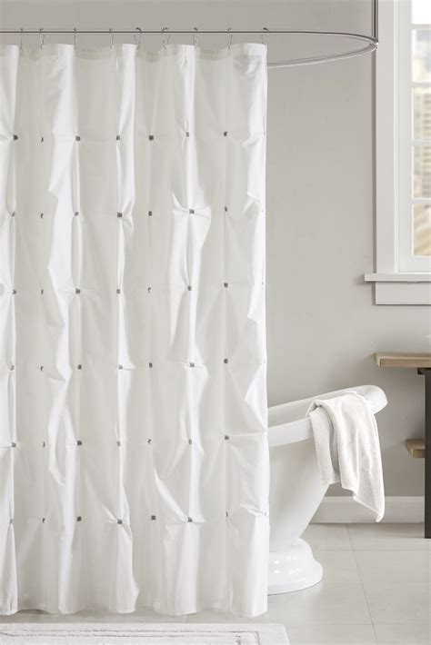 Cleaning A Shower Curtain by How To Clean A Cloth Shower Curtain Overstock