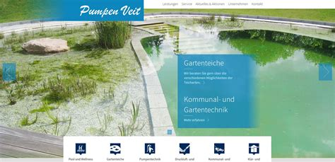pumpen veit referenzen marketing web e commerce w3work