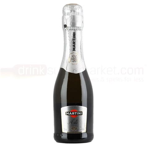 martini and rossi asti mini bottles martini asti spumante sparkling wine 20cl drinksupermarket