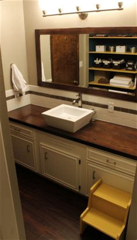 bathroom vanity wood top 1000 ideas about wooden bathroom vanity on