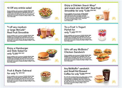 printable restaurant coupons winnipeg mcdonald s fresh savings for spring download printable
