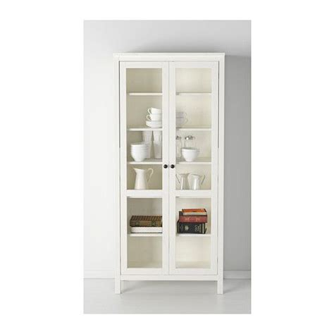 White China Cabinet With Glass Doors Hemnes Glass Door Cabinet Black Brown