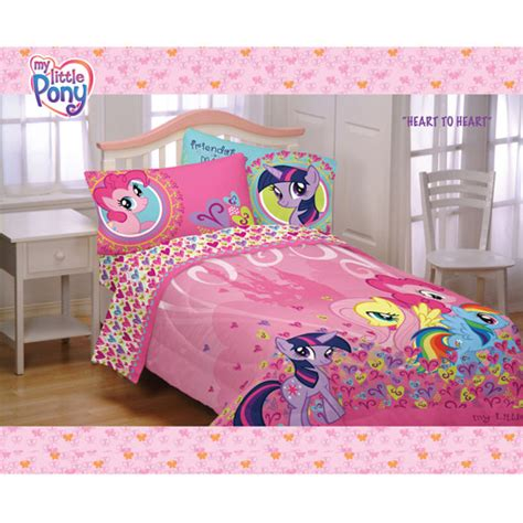 my little pony bedding my little pony heart to heart comforter kids comforters