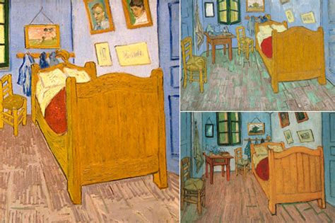 van goghs bedroom vincent van gogh s bedrooms at the art institute of